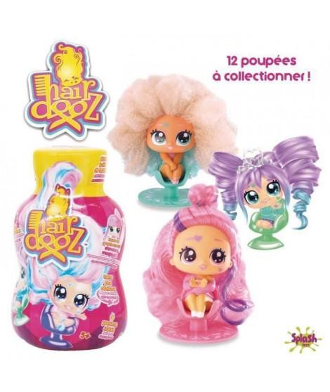 SPLASH-TOYS Bouteille de shampoing Hairdooz glitter wave 2 asst - Plus jolie figurine sur un siege de coiffeur