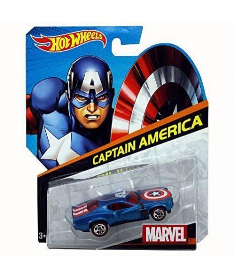 Hot Wheels Marvel Cars: Captain America