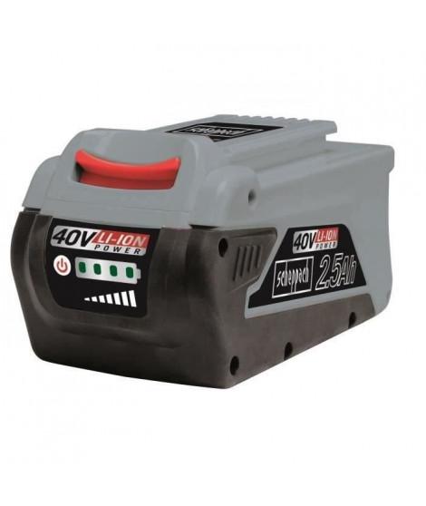 SCHEPPACH Batterie interchangeable - 40V 2,5 Ah - BPS2.5-40Li