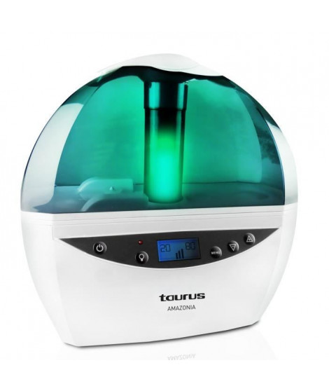 TAURUS Humidificateur d'air ionique programmable Amazonia 32 W 2,4 L