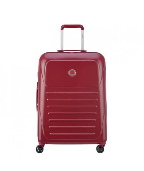 VISA DELSEY Valise Trolley Munia - 66 cm - 4 Roues - Rouge