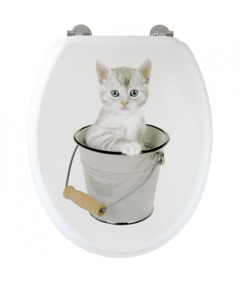 Abattant WC chaton