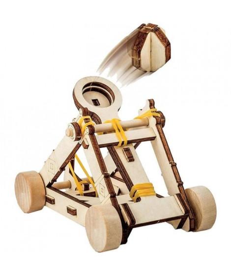 NATIONAL GEOGRAPHIC - Les inventions De Vinci - kit pour construire une catapulte en bois sans outil
