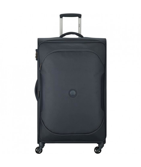 DELSEY - Trolley extensible ULITE CLASSIC 2 - Anthracite - 78 cm 4 roues - POLYESTER 68x42,5x28/32