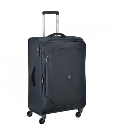 DELSEY - Trolley extensible ULITE CLASSIC 2 - Anthracite - 68 cm 4 roues - POLYESTER 68x42,5x28/32