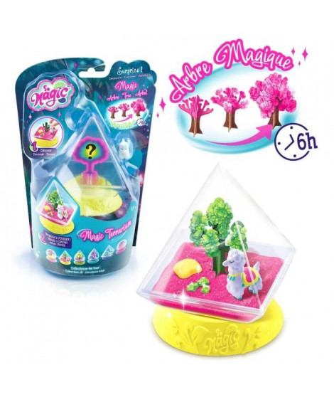 CANAL TOYS - SO MAGIC DIY - Mini Glitterarium Kit - Fabrique ton propre Glitterarium ! Modele Aléatoire