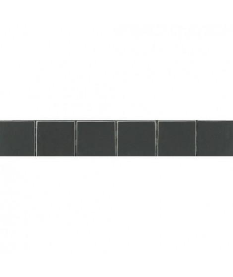 Listel en carrelage  5 x 30 cm - Noir