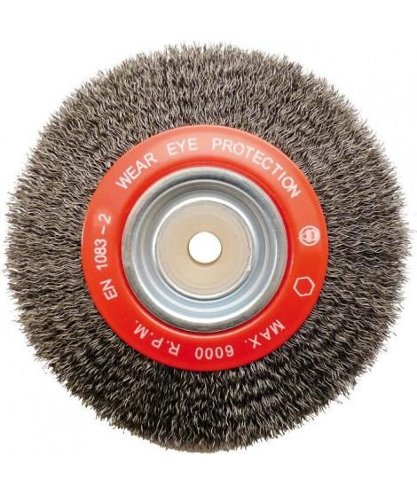 MEJIX  Brosse acier 150x18x32 mm fil 0,35mm