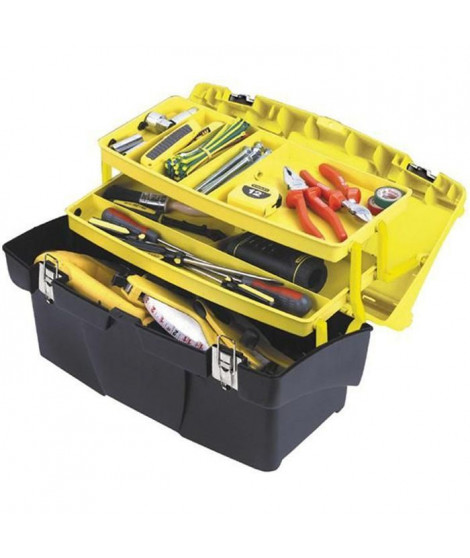 STANLEY Boîte a outils vide Jumbo 48cm