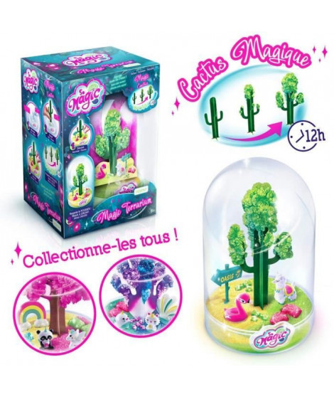 CANAL TOYS - SO MAGIC DIY - Large Glitterarium Kit - Fabrique ton propre Glitterarium !