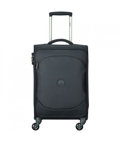 DELSEY - Trolley cabine ULITE CLASSIC 2 - Anthracite - 55 cm 4 roues - POLYESTER 55x35x24
