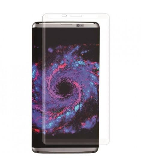 MUVIT Film protecteur - Incurvé - Pour Samsung Galaxy S8 Plus