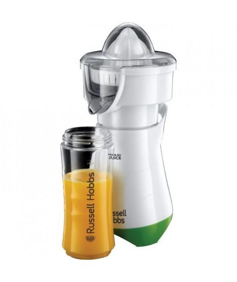 RUSSELL HOBBS 21352-56 - Mix & Go Juice Explore - 2 en 1 Blender Nomade et Presse Agrume - 300 W