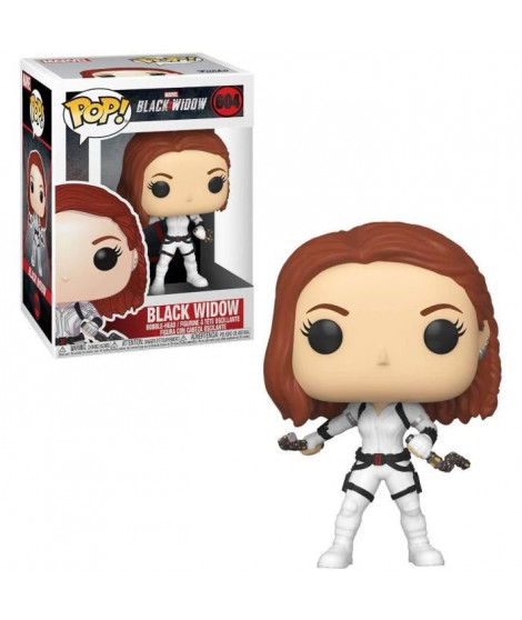 Figurines Funko Pop! Marvel: Black Widow – Black Widow (White Suit)