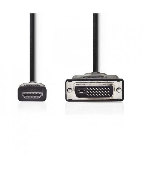 NEDIS CCGP34800BK50 Cable HDMI vers DVI-D 24+1