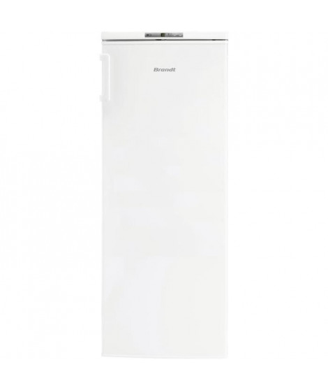 BRANDT BFU4425SW - Congélateur armoire - 161 L - Froid statique - A+ - L 55 x H 143 cm - Blanc