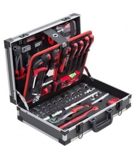 MEISTER Coffret a outils de 131 pieces - Aluminium