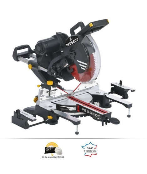 PEUGEOT Scie a onglet radiale 1600W - 305mm - double inclinaison - ENERGYSAW-305STB