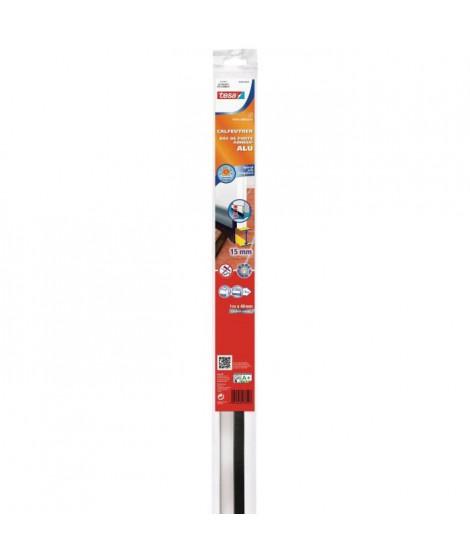 TESA Joint bas de porte adhésif - Spécial sol - 1 m x 43 mm x 15 mm - Métal