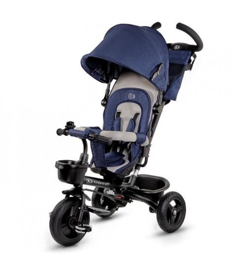 KINDERKRAFT Tricycle AVEO Bleu - 3 roues - Evolutif - Pliable