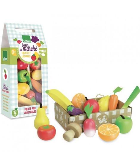VILAC - Jour de marché Set de fruits et légumes