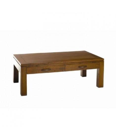 LOLA Table basse style ethnique - L 110 x l 60 cm