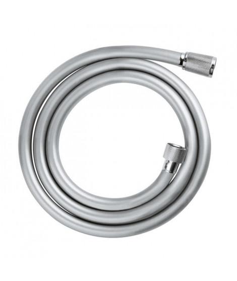GROHE Flexible de douche Relexaflex 1500 - 1,50 m - Gris argenté