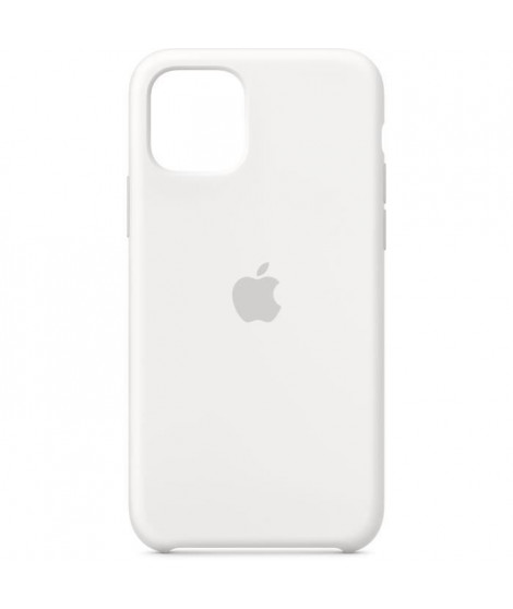 APPLE Coque Silicone Blanc pour iPhone 11 Pro