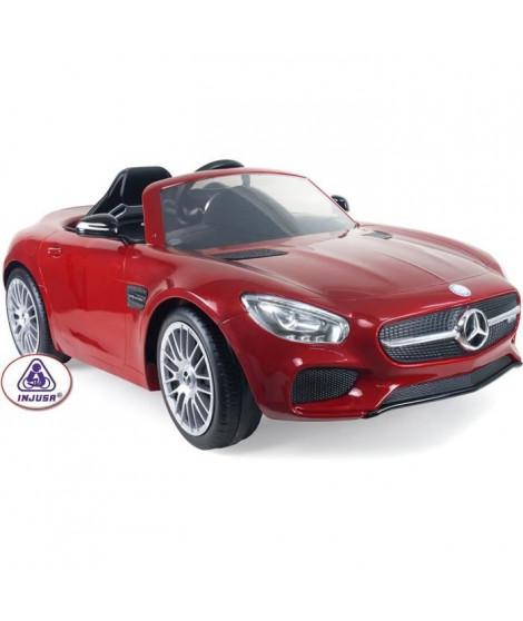 INJUSA Voiture électrique Enfant avec télécommande parentale Mercedes Benz AMG 6 Volts