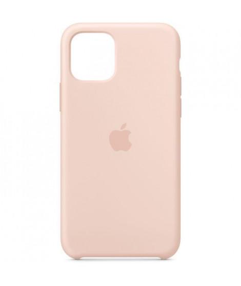 APPLE Coque Silicone Rose des sables pour iPhone 11 Pro