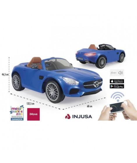 INJUSA Voiture électrique Enfant avec télécommande parentale Mercedes Benz Amg L&S 6Volts