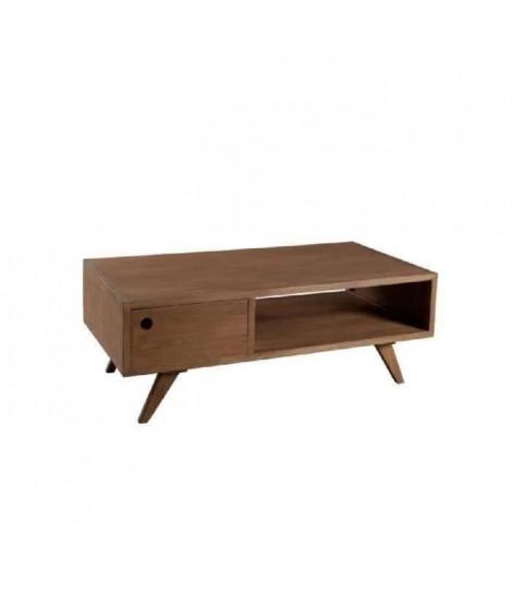 FANNY Table basse scandinave bois 120x60x45