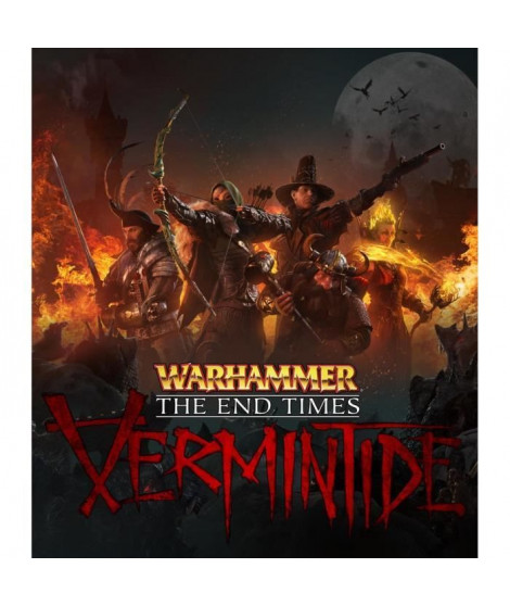 Warhammer The End Times Vermintide Jeu PS4