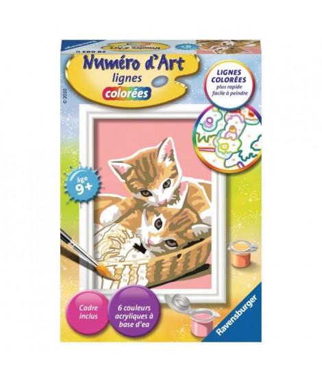 RAVENSBURGER - Numéro d'art mini Chatons dans leur panier