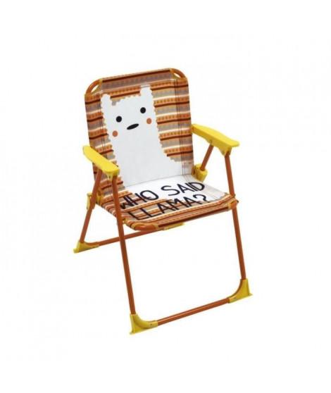 Chaise pliante Lama Pour Enfant - Montée38x32x53 cm