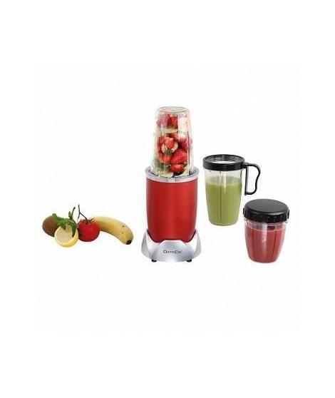 DOMOCLIP DOP178 Blender nutrition 9 accessoires - Rouge