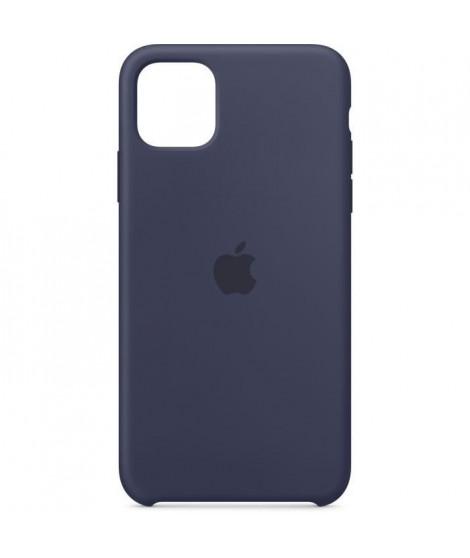 APPLE Coque Silicone Bleu nuit pour iPhone 11 Pro Max