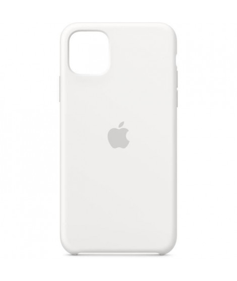 APPLE Coque Silicone Blanc pour iPhone 11 Pro Max