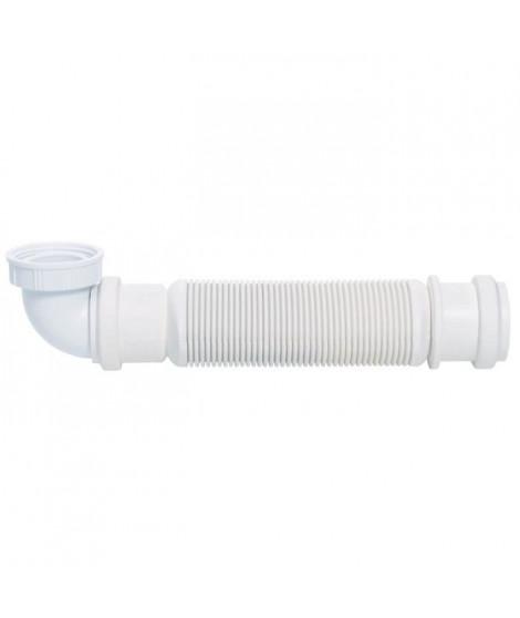 WIRQUIN Siphon extra-plat d'évier - Sans garde d'eau