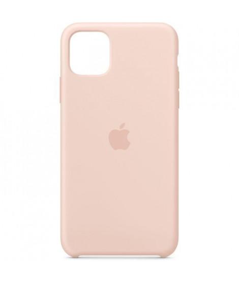 APPLE Coque Silicone Rose des sables pour iPhone 11 Pro Max