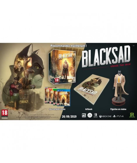 BlackSad Under the Skin - Collector Jeu Switch