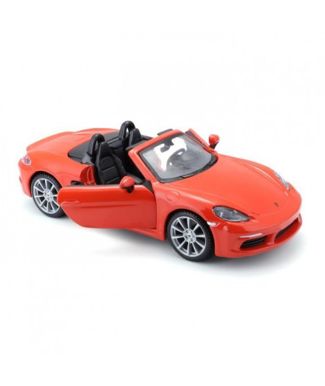 BBURAGO Voiture Porsche 718 Boxter 1/24eme - Orange