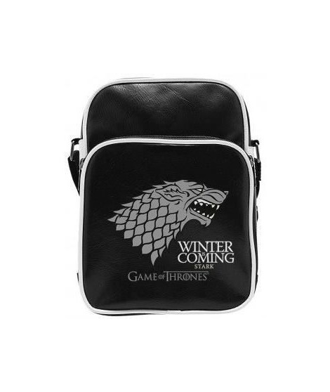 Sac Besace Game Of Thrones - Stark - Vinyle Petit Format - ABYstyle