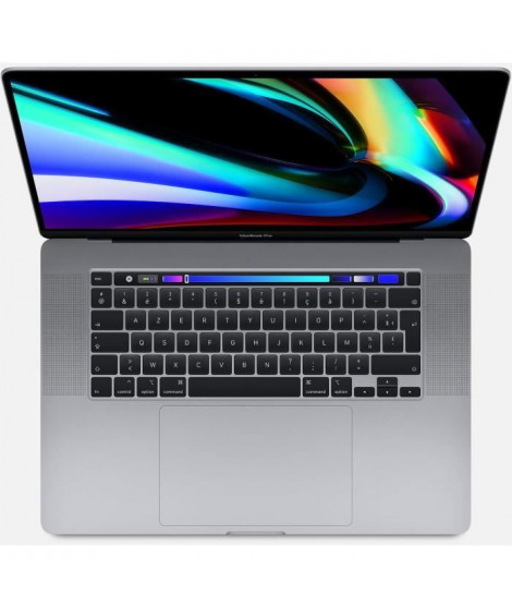APPLE 16-inch MacBook Pro with Touch Bar: 2.6GHz 6-core 9th-generation Intel Core i7 processor, 512GB - Space Grey