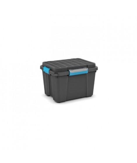 KIS Boîte de rangement Scuba Box M - 45 L - Noir