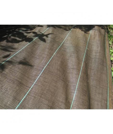 VILMORIN Toile de paillage tissée en polypropylene - 1,60 x 20 m - Marron