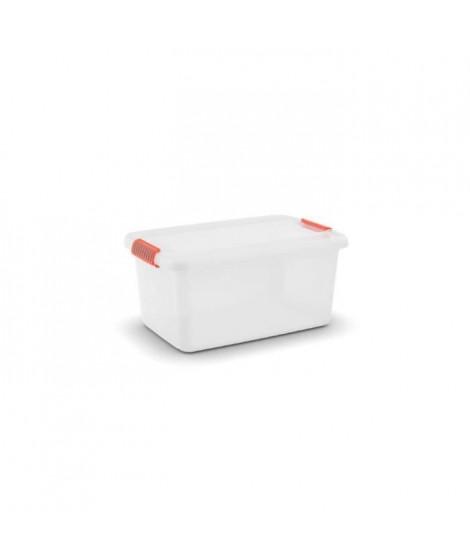 KIS Malle multifonctions K Latch Box L - 43 L - Blanc naturel