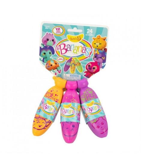 SPLASH-TOYS Pack de 3 jouets Banana's split asst- Plus surprises