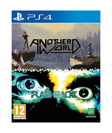 Pack Another World / Flashback Jeux PS4