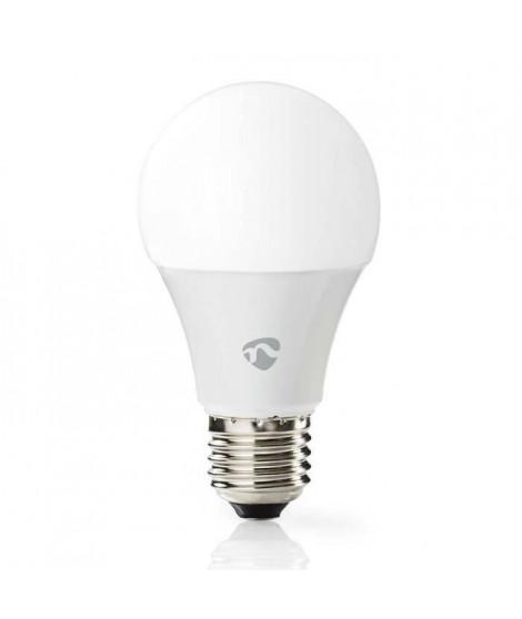 NEDIS Ampoule LED intelligente WiFi - Pleine couleur et blanc chaud - E27